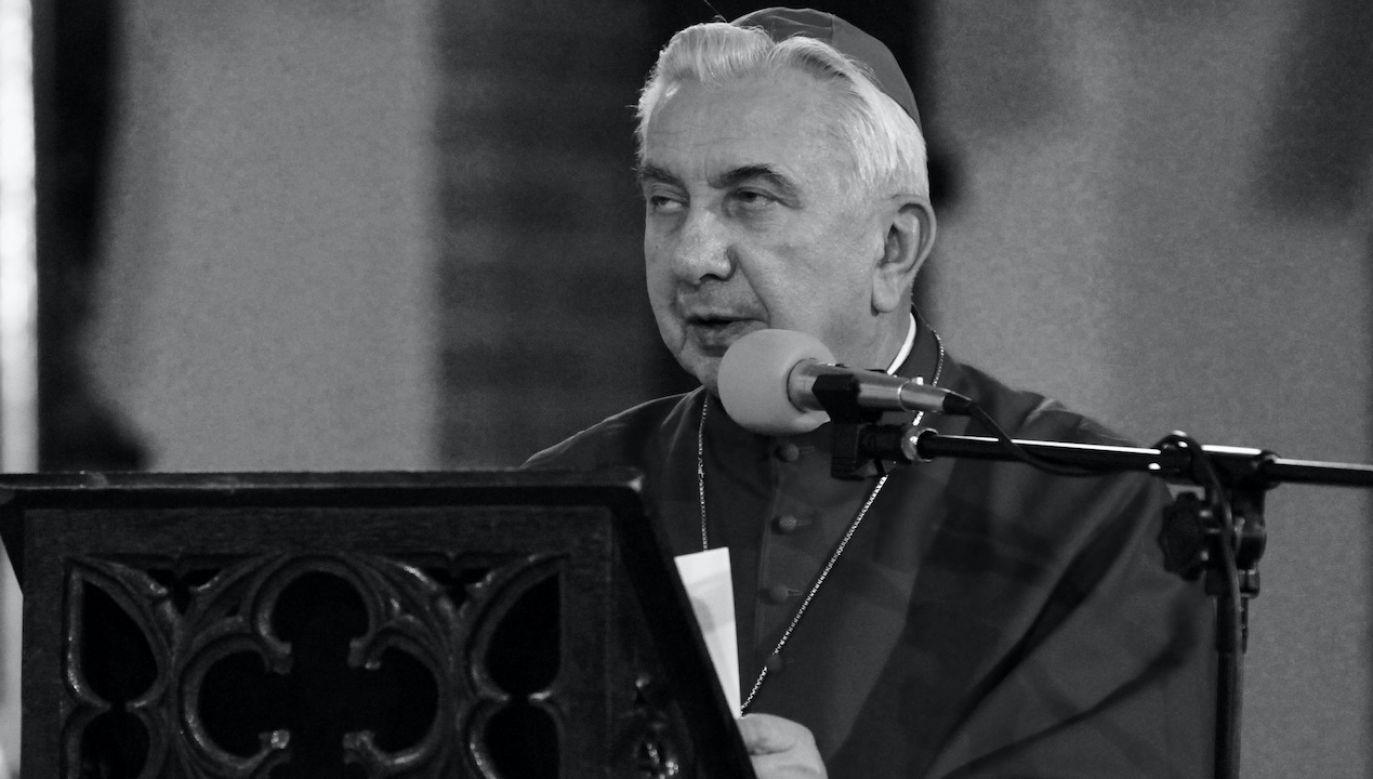 Abp Wojciech Ziemba (fot. arch.PAP/Adrian Starus)