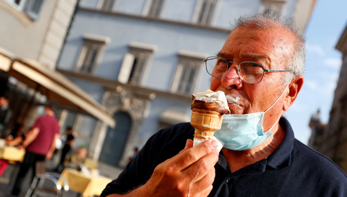 Włochy są na pierwszym miejscu pod względem produkcji tzw. lodów rzemieślniczych (fot. Reuters)