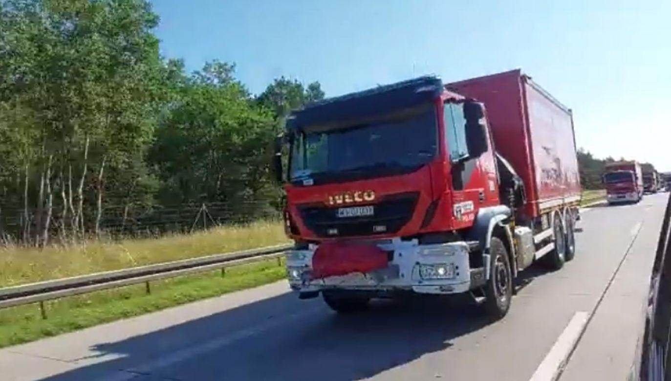 Pomoc humanitarna dla Niemiec (fot. Państwowa Straż Pożarna)