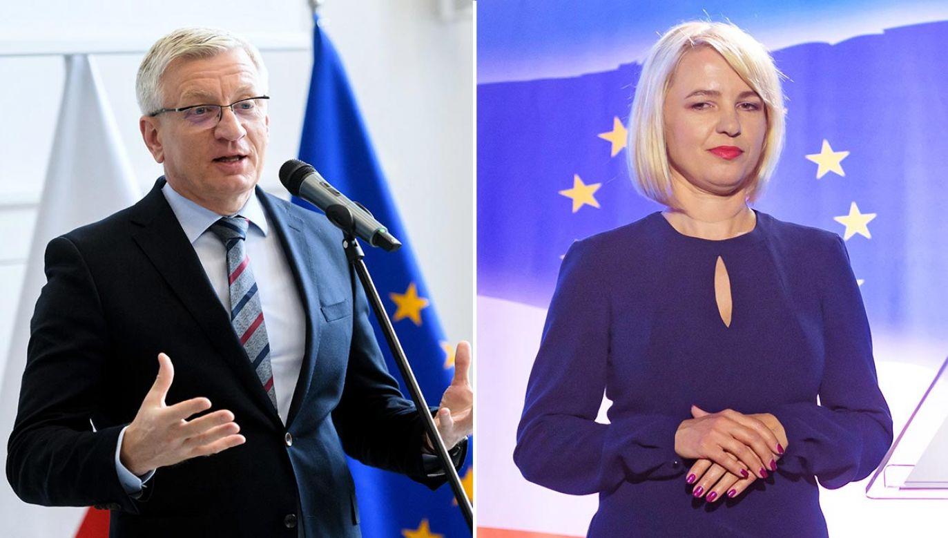 Odwołana wiceprezydent uważa, że to polityczny deal między Jaśkowiakiem i Szłapką (fot. PAP/Jakub Kaczmarczyk)