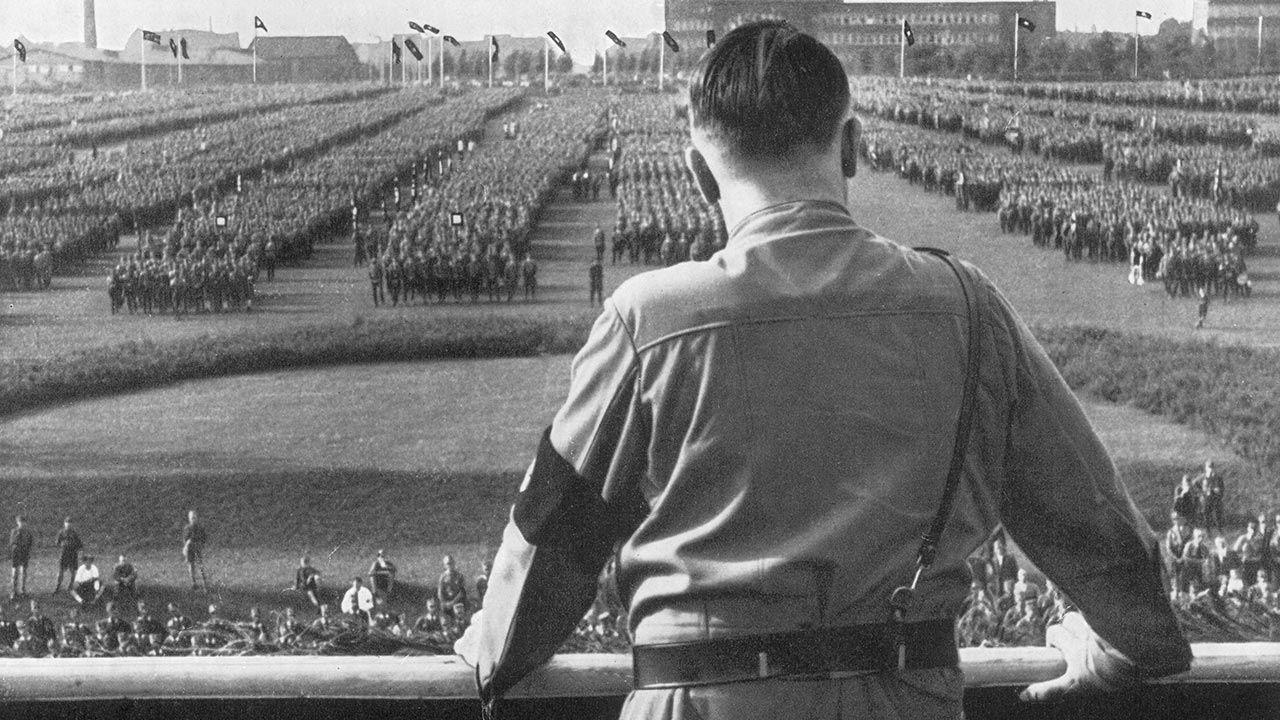 Adolf Hitler (fot. Hulton Archive/Getty Images)
