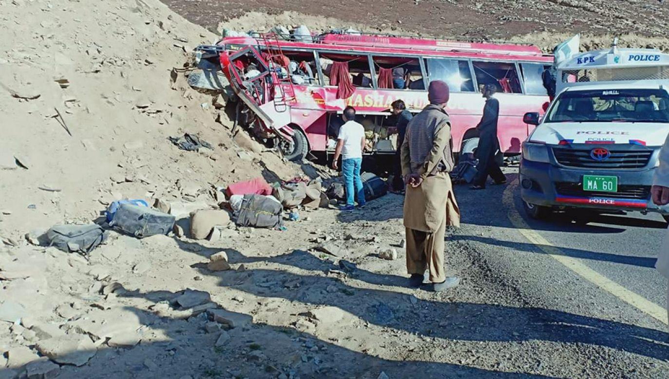 Do katastrofy doszło wysoko w górach (fot. TT/Amiruddin Mughal)