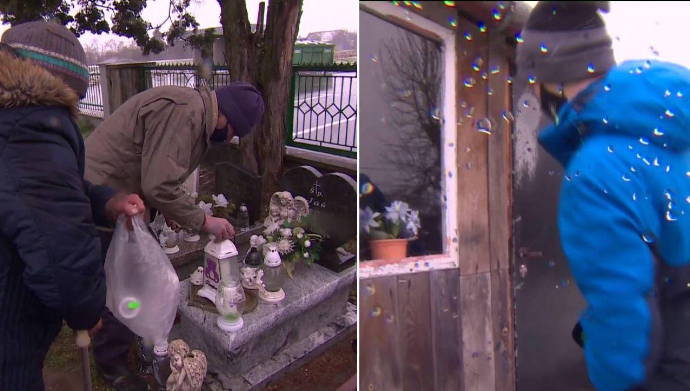 Jaś zginął tuż po narodzinach (fot. TVP1)
