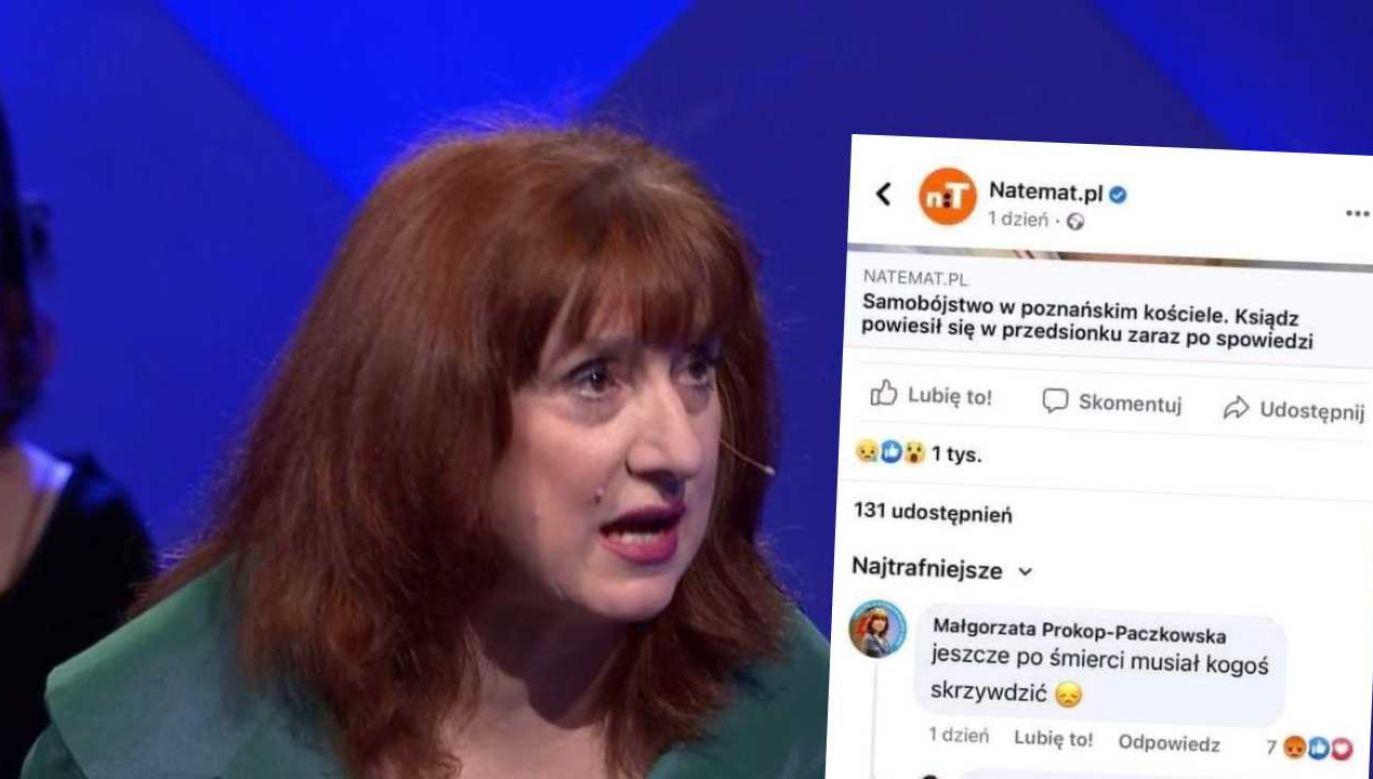 Posłanka Lewicy znów szokuje (fot. TVP Info/TT)
