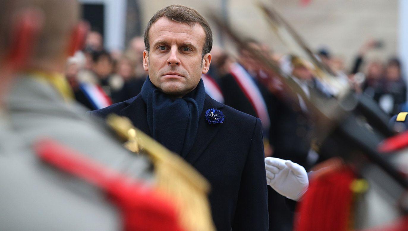 Przedstawiciele kilku partii politycznych zaprotestowali przeciwko próbom ingerowania Paryża w politykę wewnętrzną Hiszpanii (fot. PAP/EPA/FRANCOIS NASCIMBENI / POOL)