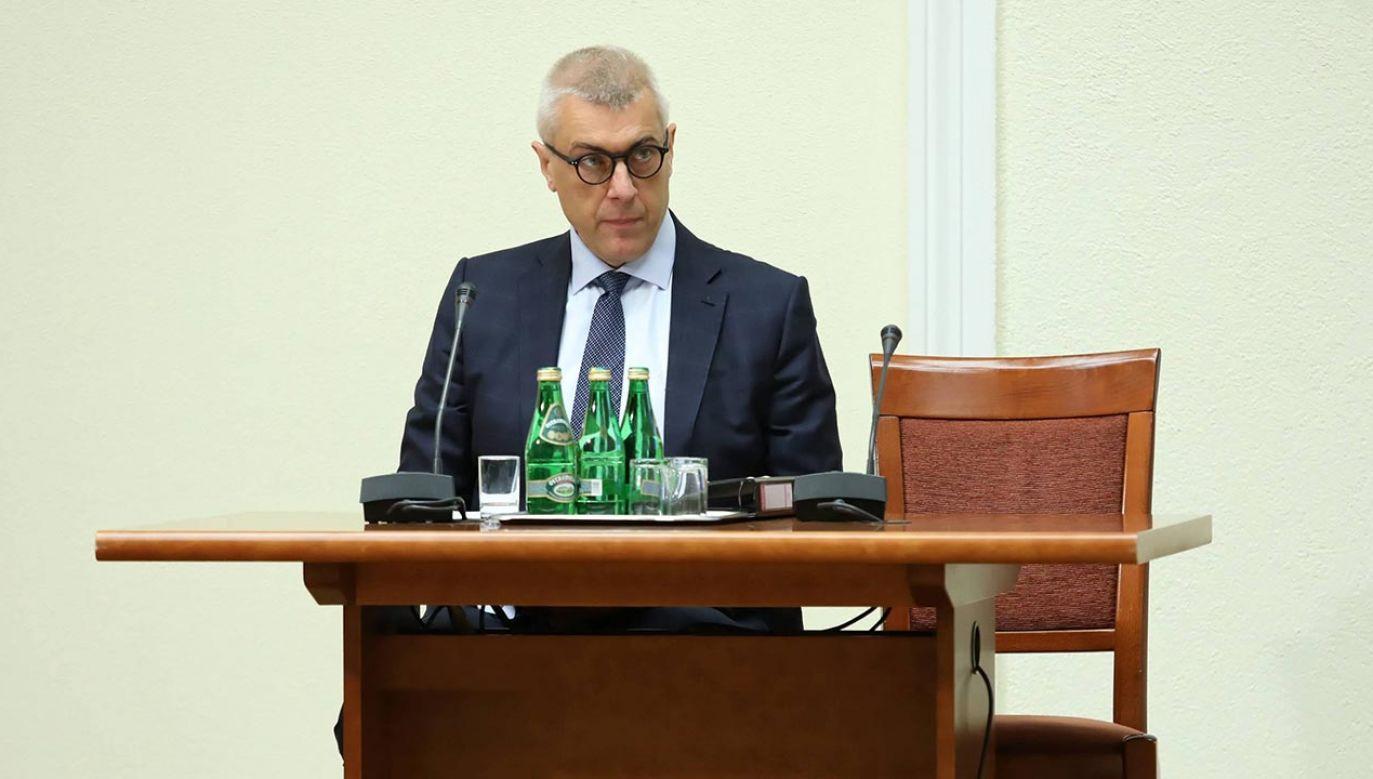 Roman G. zatem stwierdza nieprawdę, przypisując prokuratorowi krajowemu, że przesądził o jego winie – twierdzi PK(fot. PAP/Tomasz Gzell)