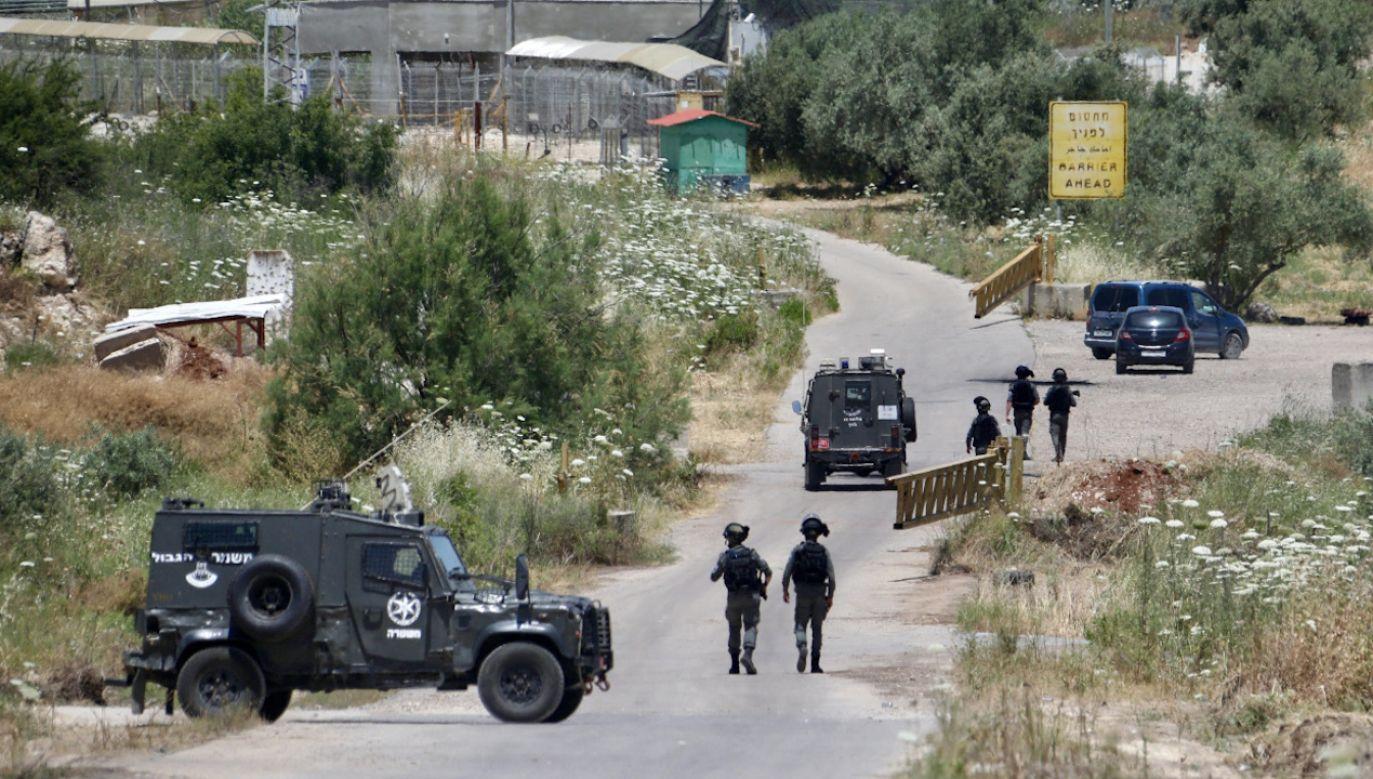 Rośnie napięcie na Zachodnim Brzegu i w Jerozolimie Wschodniej (fot. PAP/EPA/ALAA BADARNEH)