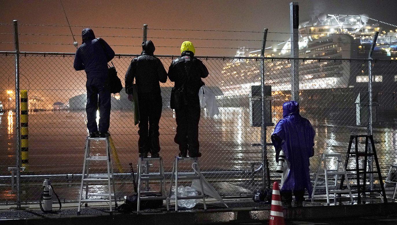 Po powrocie do USA zostaną poddani 14-dniowej kwarantannie (fot. PAP/EPA/FRANCK ROBICHON)