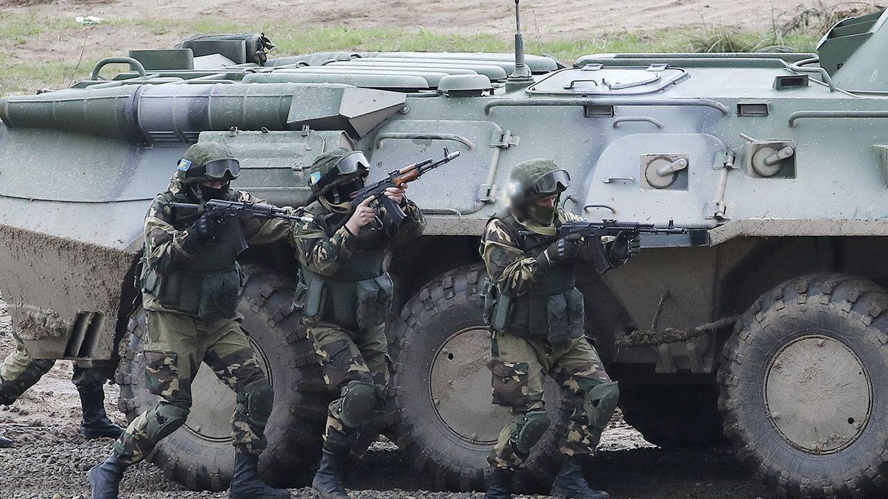 Doszło do potyczek między wojskami granicznymi (fot. Natalia Fedosenko\TASS via Getty Images, zdj. ilustracyjne)