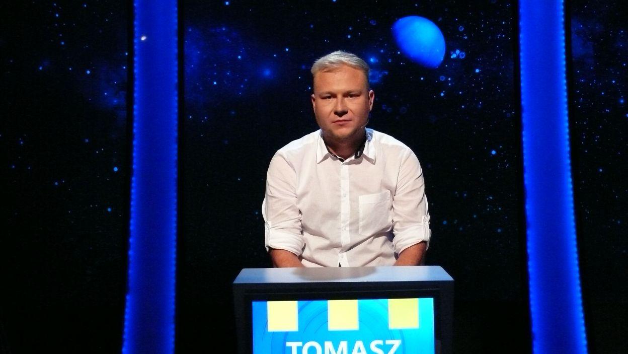 Pan Tomasz wylosował pierwsze stanowisko a zatem to od niego zacznie się pierwszy etap rozgrywki