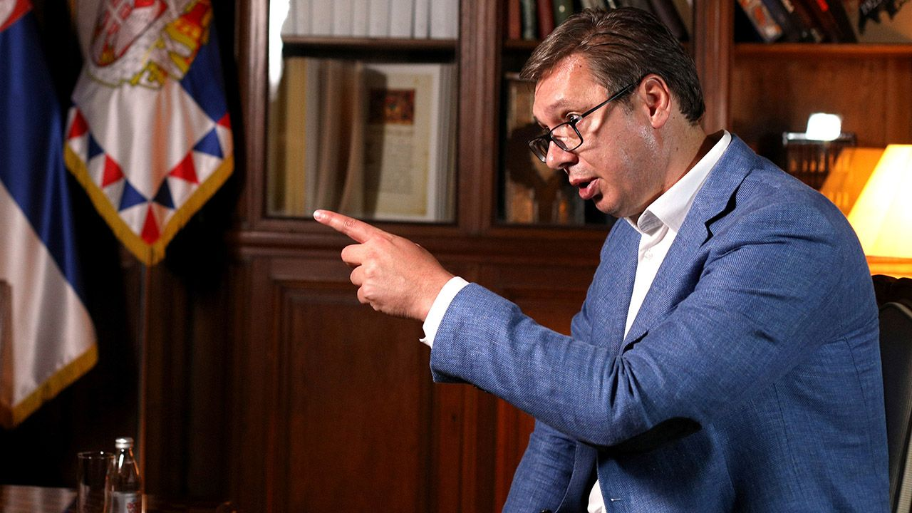 Aleksandar Vuczić (fot. REUTERS/Djordje Kojadinovic)