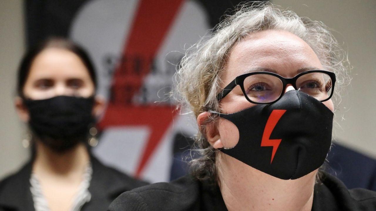Lempart stała się twarzą Strajku Kobiet (fot. PAP/Paweł Supernak)
