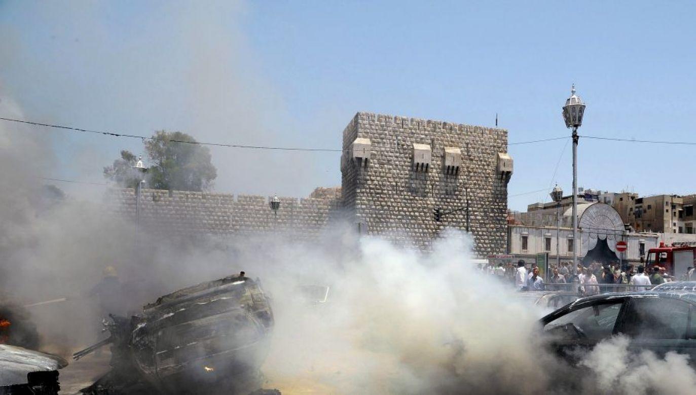 Sprawcy zamachu nie są znani (fot. PAP/EPA/SANA/HANDOUT)