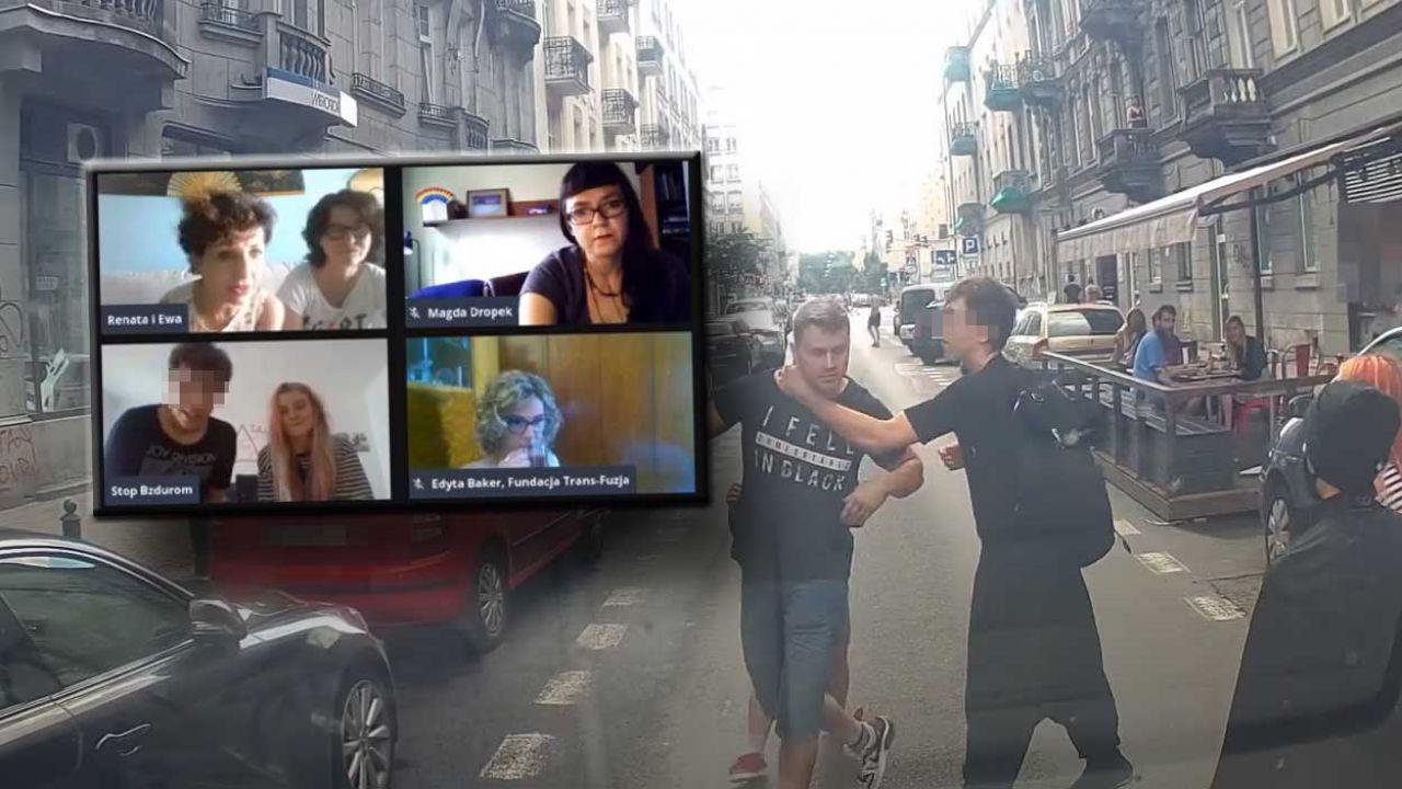 Michał Sz. został zresztowany na dwa miesiące za atak na kierowcę ciężarówki fundacji pro-life (fot. YouTube/ Fundacja Pro TV; Facebook/ Gej przeciwko światu)