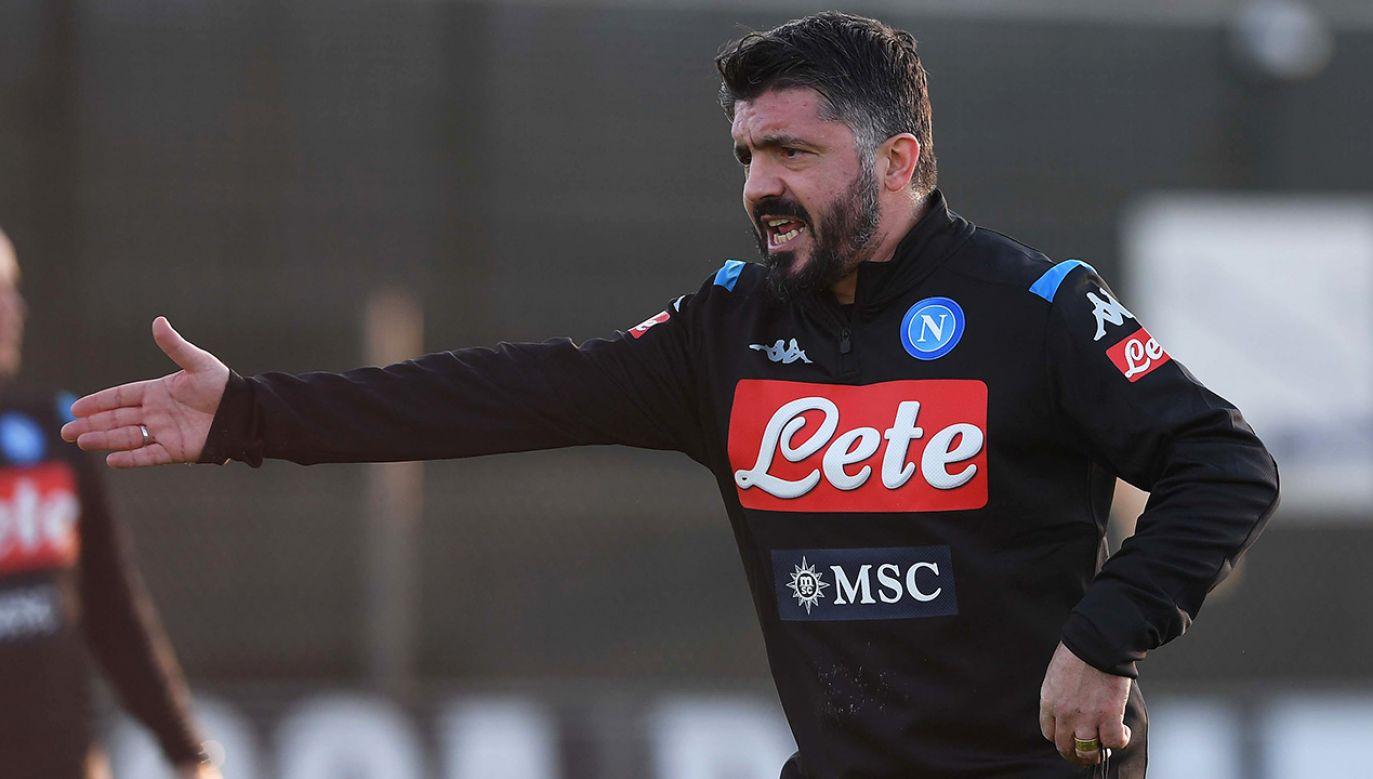 Doświadczenie trenerskie zbierał m.in. w AC Milan (fot. SSC NAPOLI/SSC NAPOLI via Getty Images)