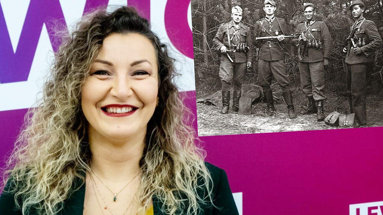 Monika Pawłowska oddała cześć Żołnierzom Wyklętym (fot. Facebook;Monika Pawłowska; wikipedia)