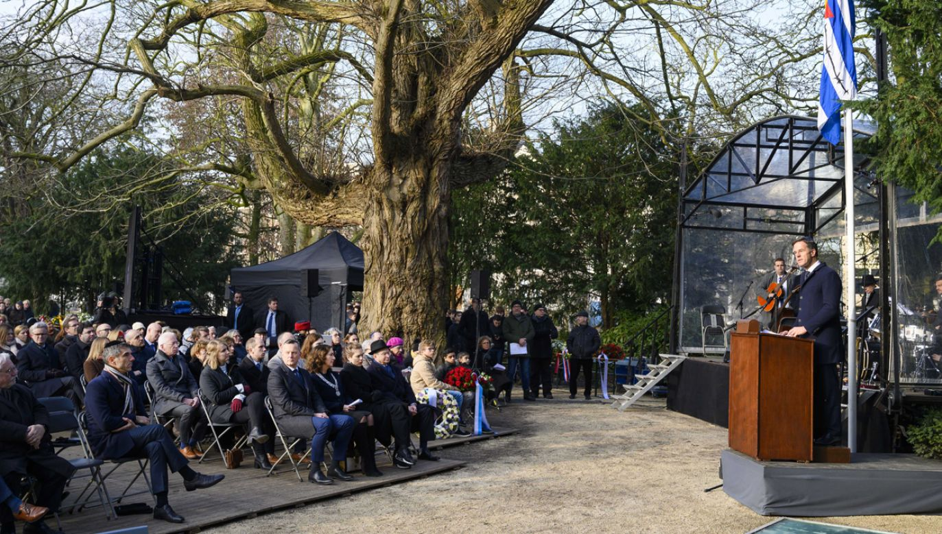 Zbyt wielu holenderskich urzędników wykonywało rozkazy okupanta – przyznał premier Niderlandów (fot. PAP/EPA/Evert Elzinga)