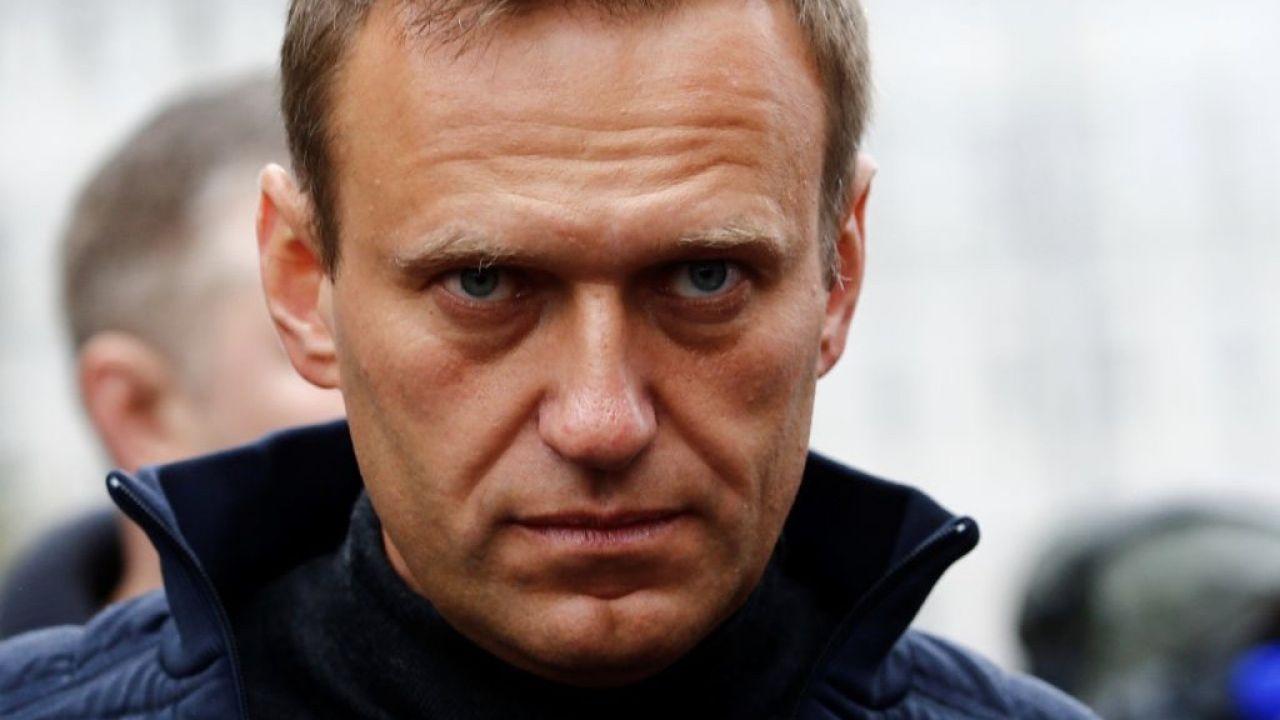 Nawalny nie określił dokładnie, kiedy zamierza wrócić z Niemiec do Rosji, ale wykluczył sytuację, że nie będzie mógł wrócić do kraju (fot. Sefa Karacan/Anadolu Agency via Getty Images)