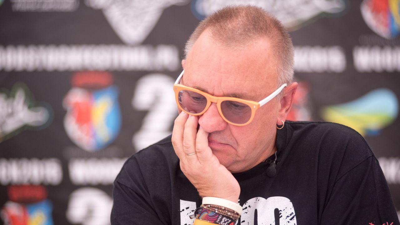 Jerzy Owsiak – lider Pol'and'Rock i WOŚP (fot. Getty Images Poland/ Marek Lapis)