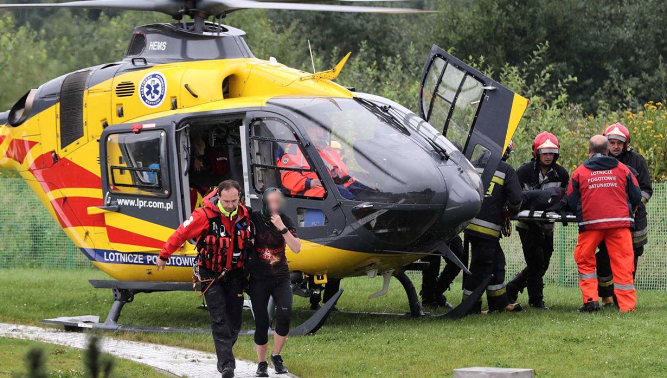 Podczas burzy, która w czwartek przeszła nad Tatrami kilkanaście osób zostało rażonych przez piorun (fot. PAP/Grzegorz Momot)