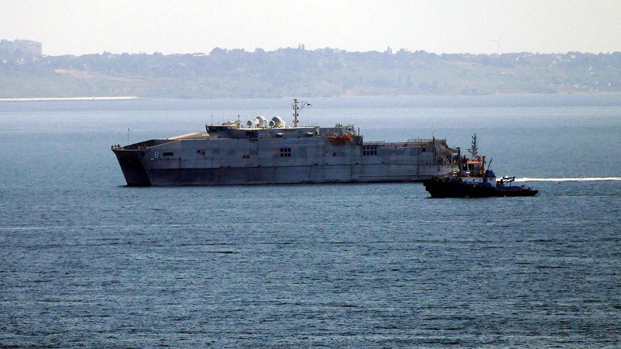 Ćwiczenia na Morzu Czarnym pokazały Rosji, że jej plany przejęcia kontroli nad całym akwenem nie zostaną zaakceptowane (fot.  Stringer\TASS via Getty Images)