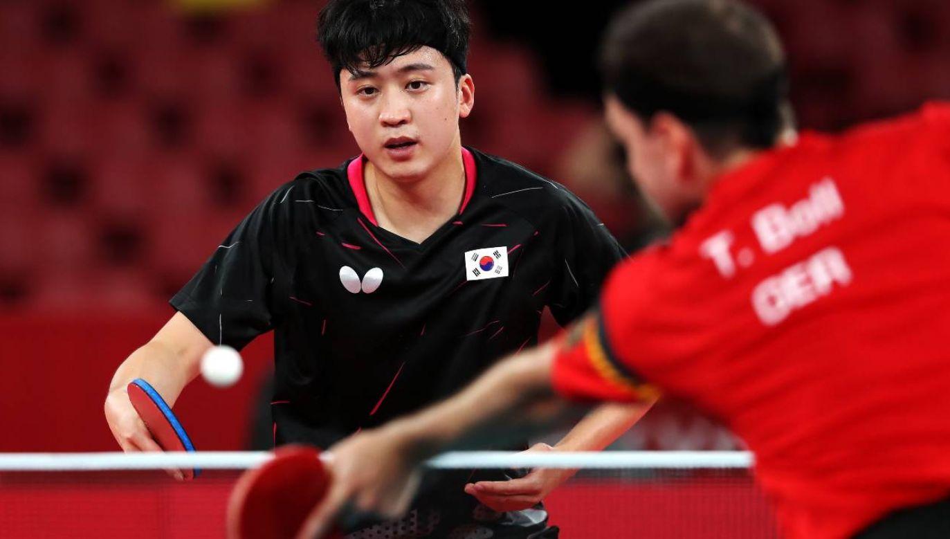 Youngsik Jeoung stał się obiektem niewybrednych komentarzy dziennikarza (fot. PAP/EPA/HEDAYATULLAH AMID)