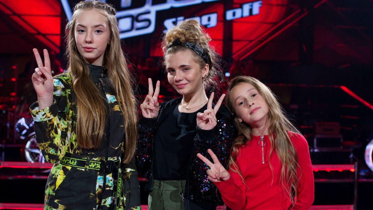 Udało się! Do finału przeszły Ewelina, Ola i Hania (fot.TVP)