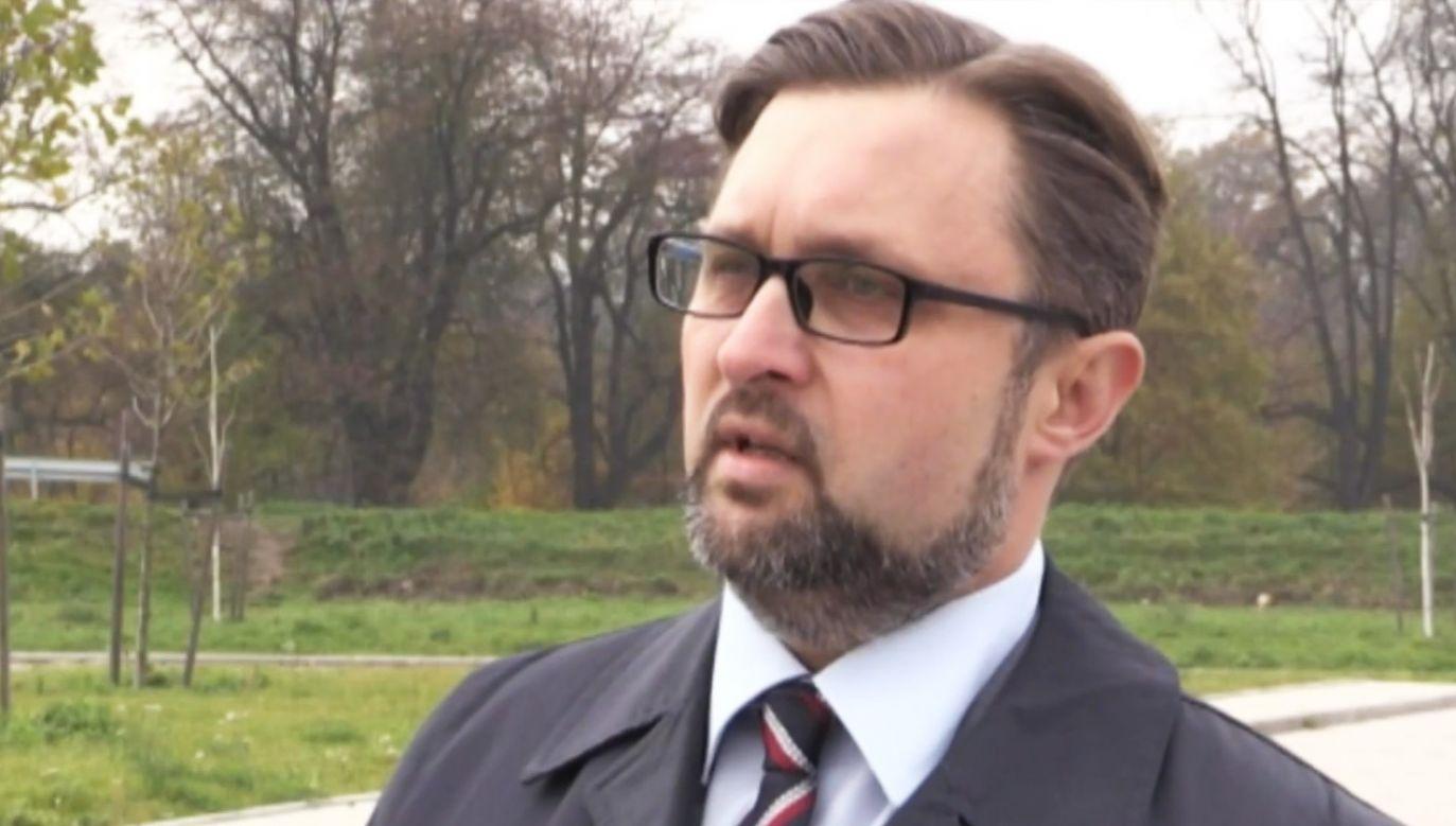 Sędzia Wytrykowski: To było brutalne nękanie (fot.  TVP)