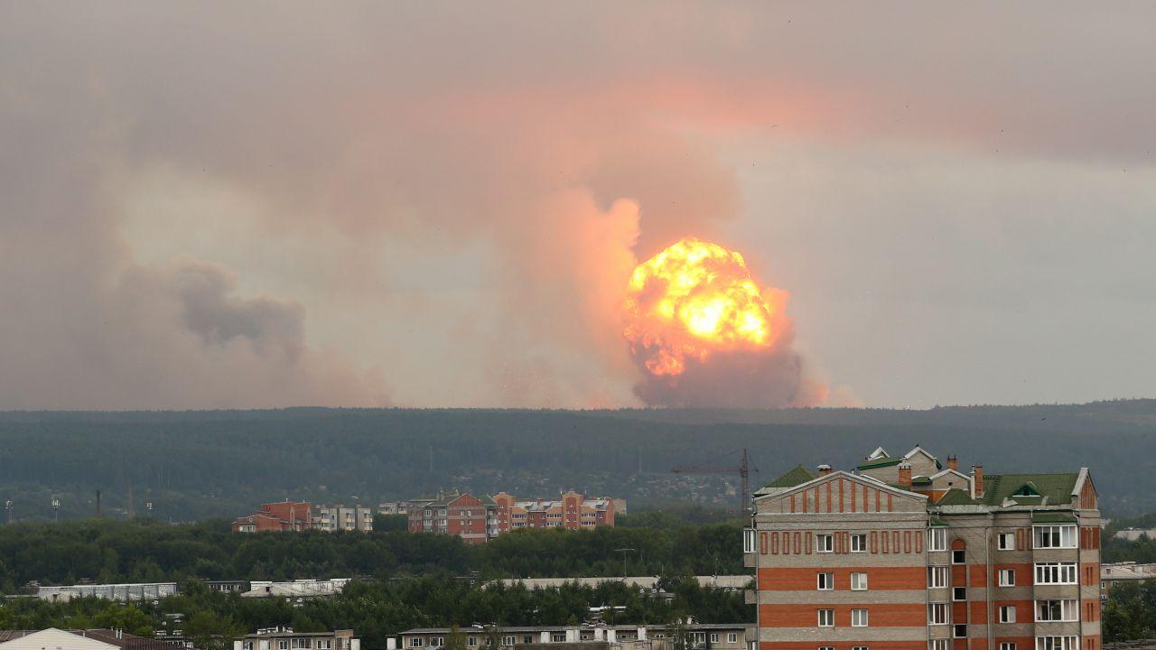 Poligon, na którym doszło do wypadku wykorzystywany jest do testowania silników rakietowych (fot. PAP/EPA/DMITRY DUB)