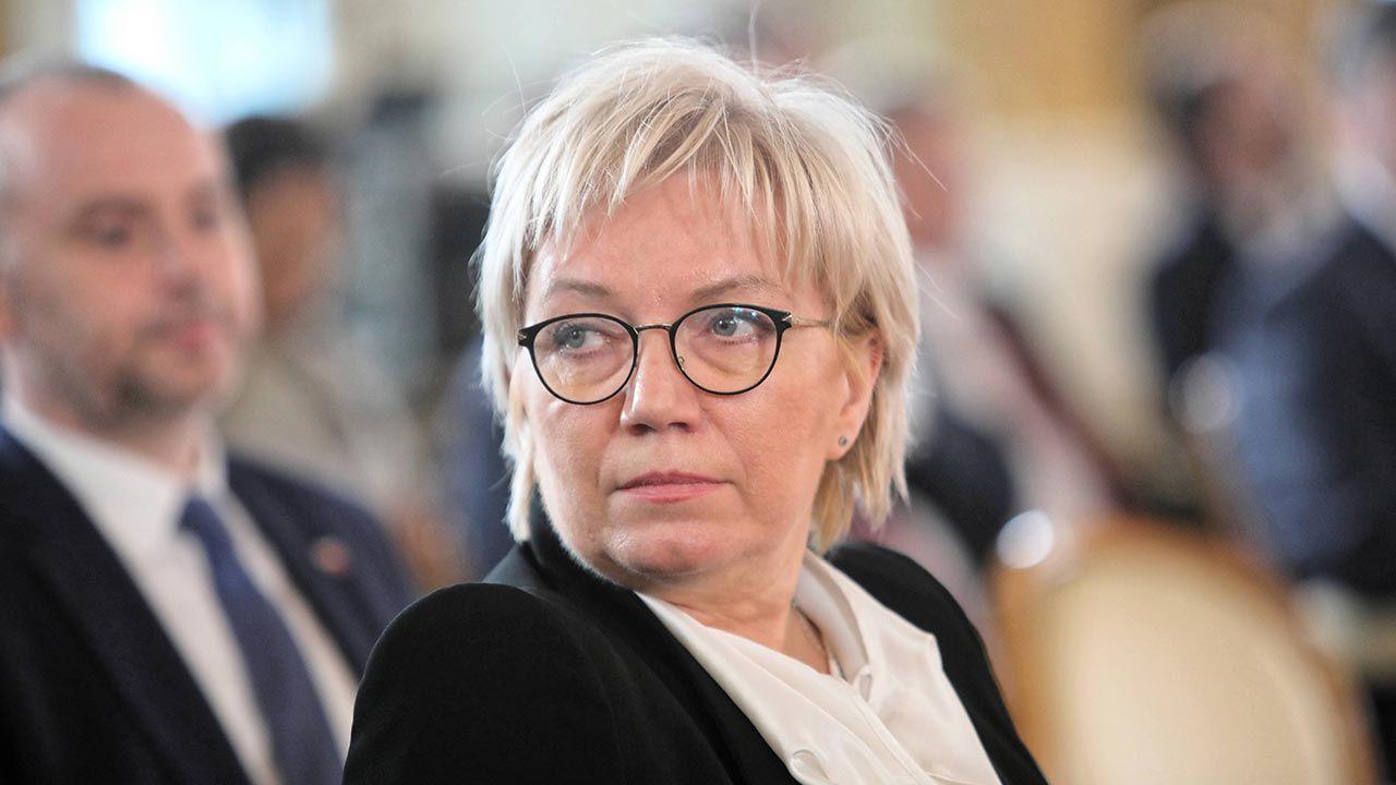 6 marca br. do grona laureatów dołączyła prezes Julia Przyłębska (fot. PAP/Wojciech Olkuśnik)