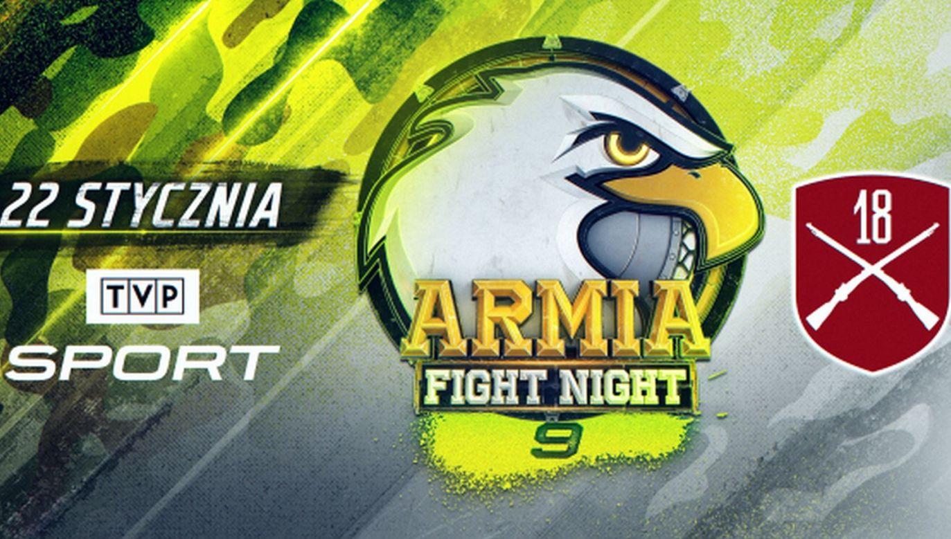 Armia Fight Night 9. Transmisja gali MMA na żywo online w TVPSPORT.PL