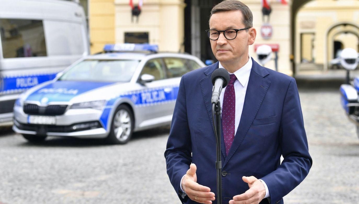 Mateusz Morawiecki (fot. PAP/Radek Pietruszka)