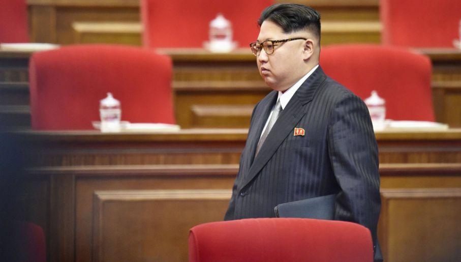 Kim Dzong Un stosuje terror także wobec własnej rodziny (fot. arch.PAP/Newscom)