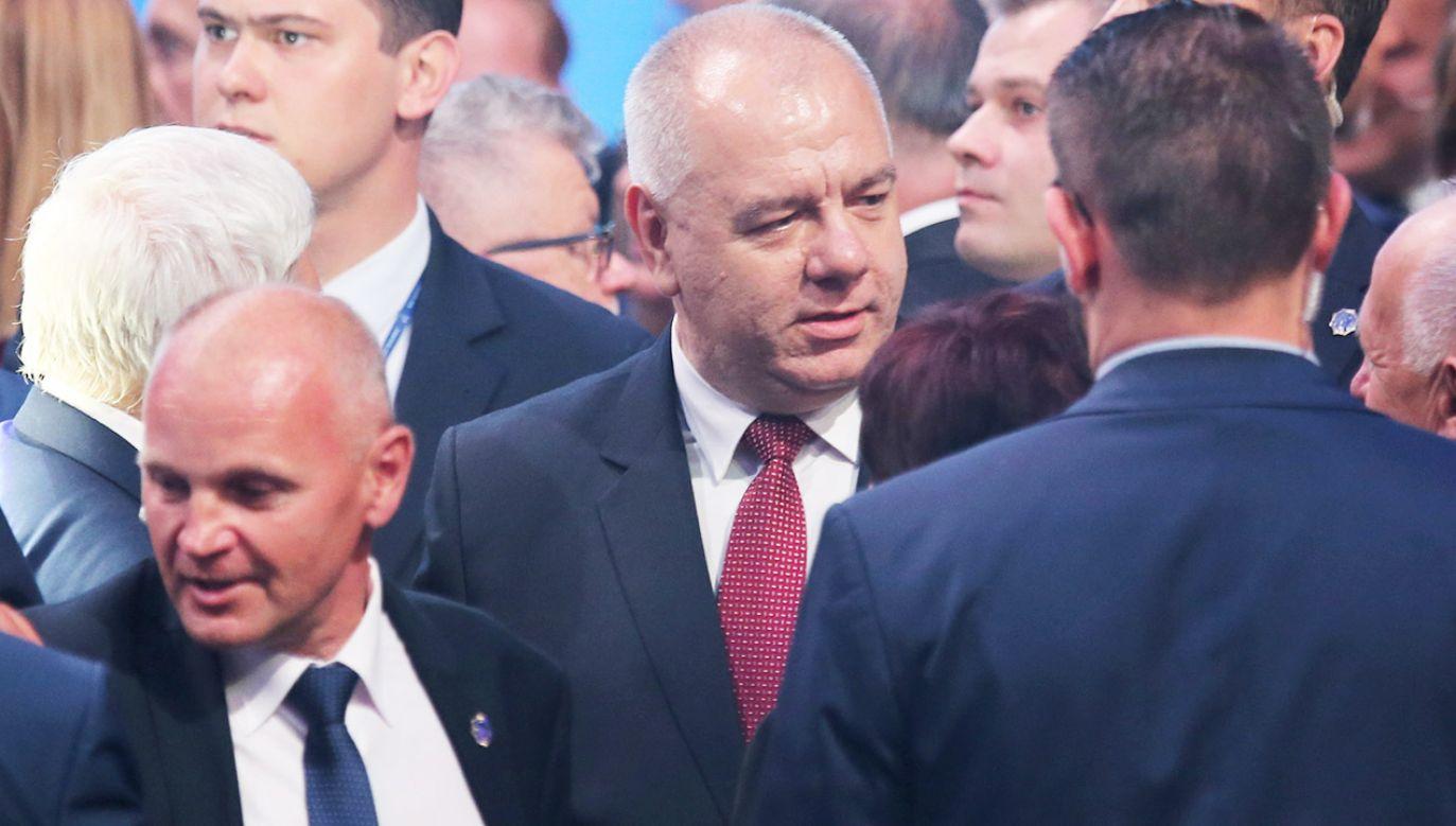 Wicepremier Sasin powiedział, że rozmowy premiera w Brukseli dotyczyły również obsady stanowisk w UE (fot. PAP/Andrzej Grygiel)