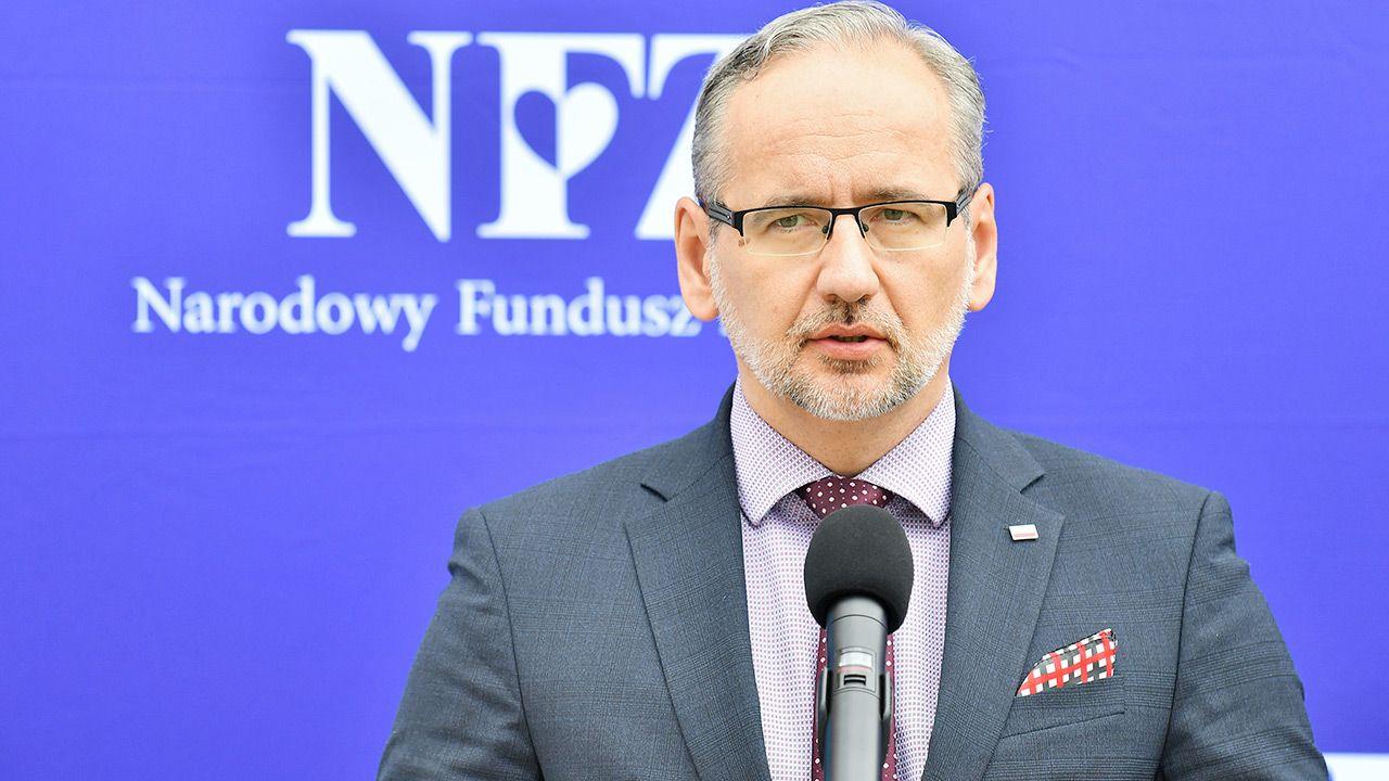 Adam Niedzielski o kolejnej fali pandemii (fot. PAP/Sebastian Borowski)