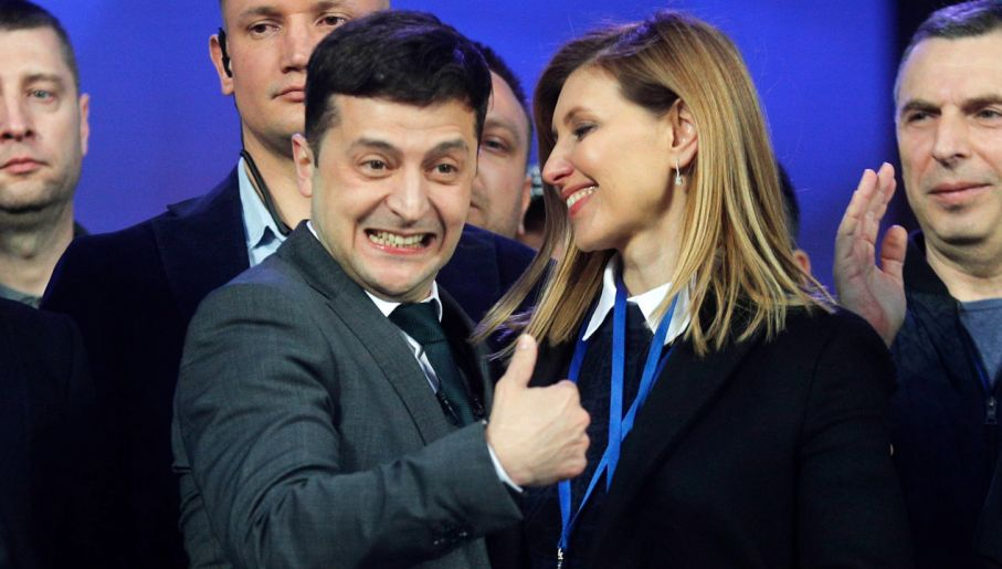 c8398b422e688f Ukraina ma nowego prezydenta. Miażdżąca przewaga wygranego - tvp.info