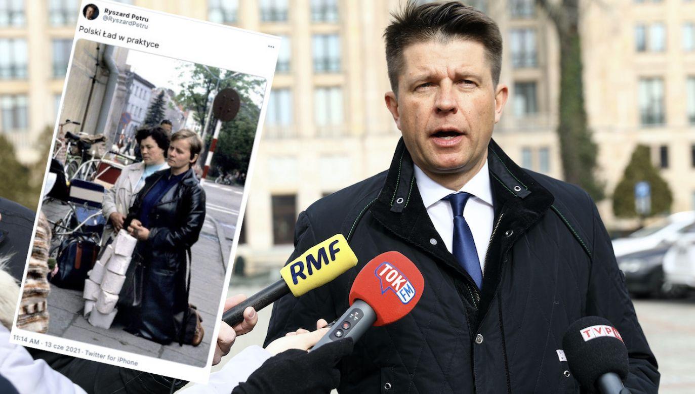 Wpis Ryszarda Petru oburzył internautów i polityków (fot. arch.PAP/Rafał Guz, tt/@RyszardPetru)