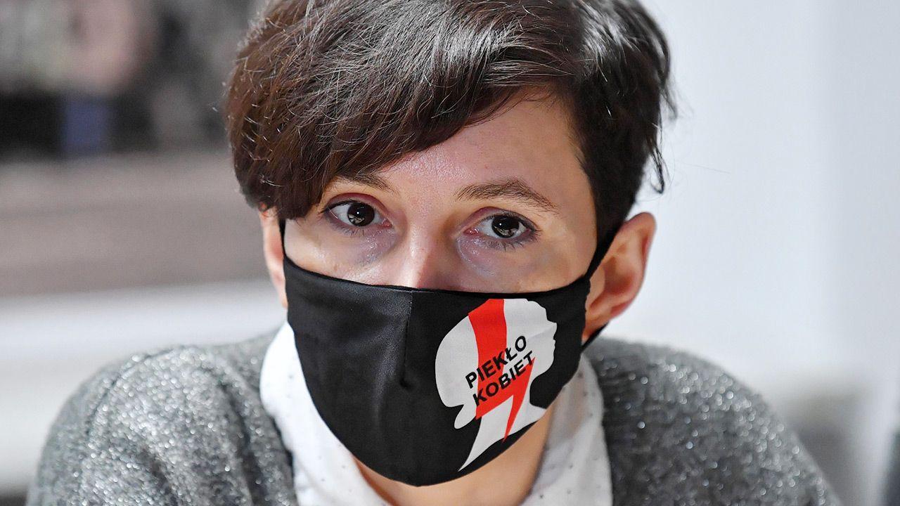 """Zaskakujący wpis liderki """"Strajku Kobiet"""" w mediach społecznościowych (fot. PAP/Radek Pietruszka)"""