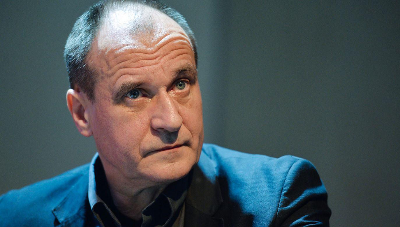Paweł Kukiz zabrał głos ws. Funduszu Odbudowy (fot. Artur Widak/NurPhoto via Getty Images)