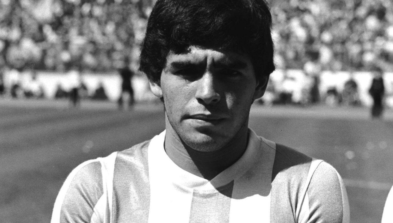 W wieku 60 lat zmarł Diego Maradona (fot. Getty Images)