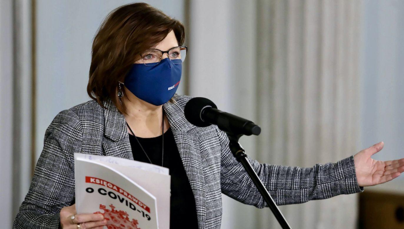 Posłanka PO Izabela Leszczyna (fot. arch.PAP/Tomasz Gzell)