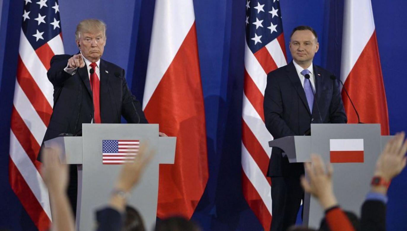 Mosbacher wyjaśnia, że przyczyną sympatii Trumpa do Polski i Polaków jest wspólna historia (fot. Omar Marques/Anadolu Agency/Getty Images)