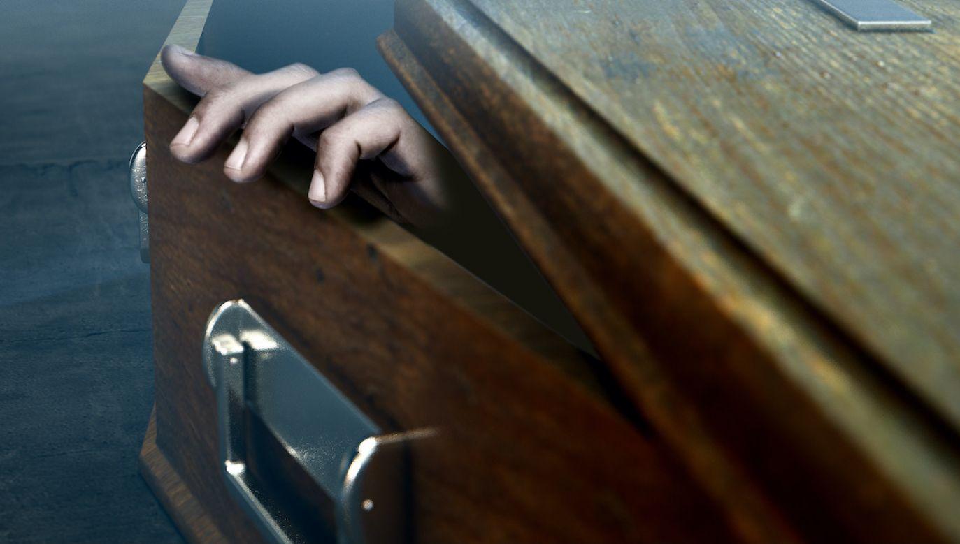 Niecodzienna sytuacja miała miejsce na pogrzebie w Libanie (fot. Shutterstock/Inked Pixels)