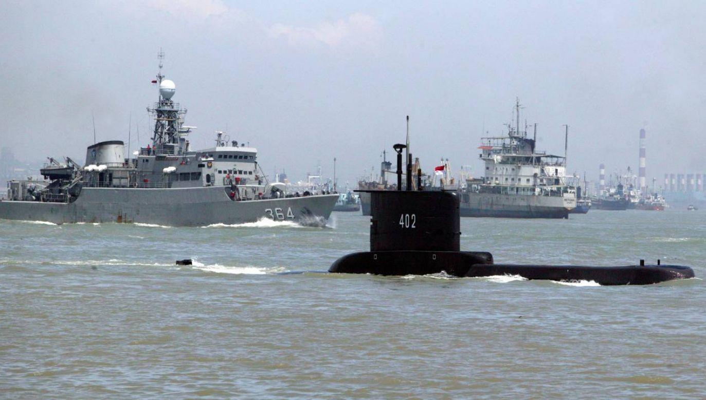 Na pokładzie KRI Nanggala 402 znajduje się 53 marynarzy (fot. PAP/EPA/INDONESIAN NAVY / HANDOUT)