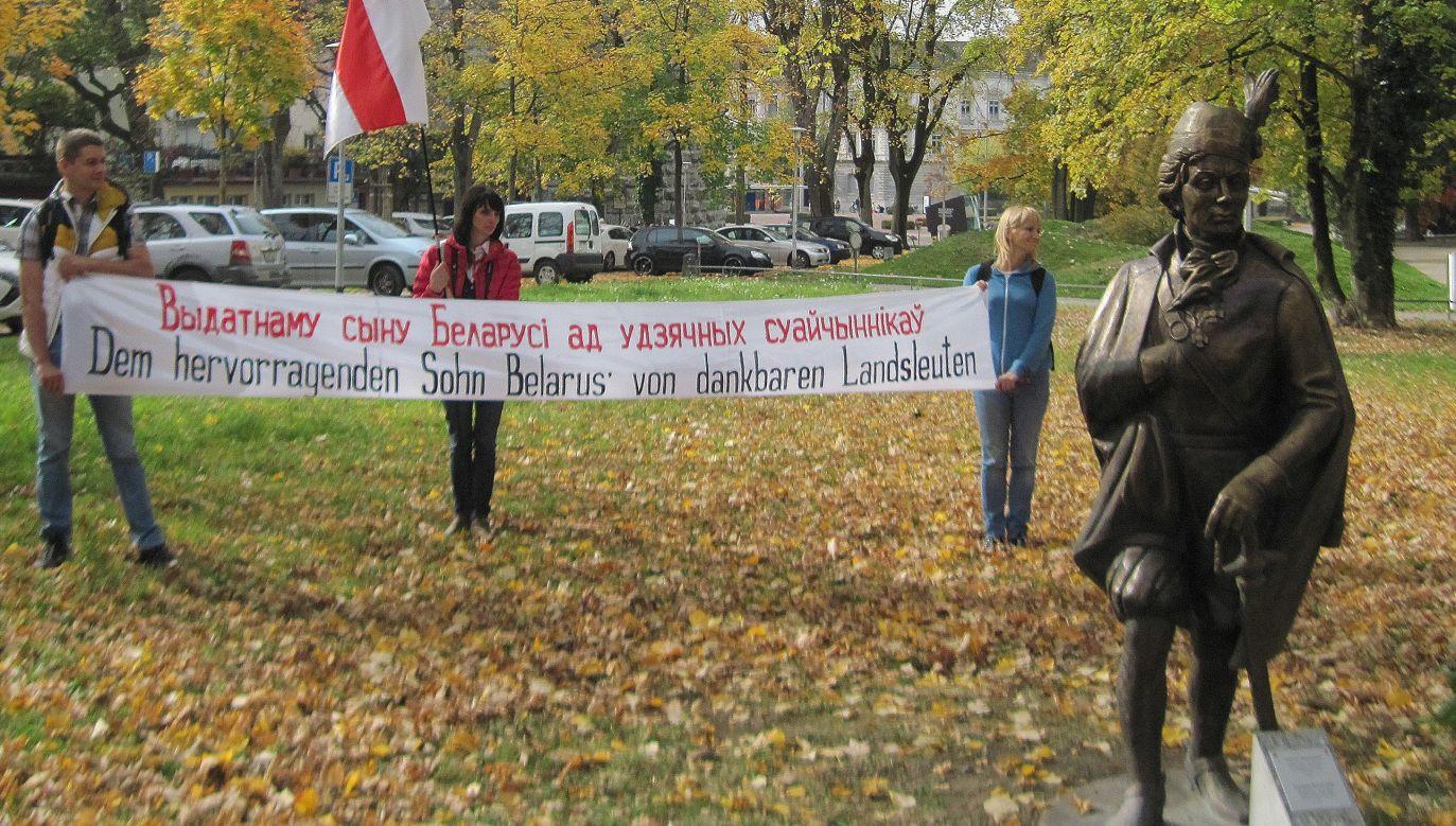 Początkowo inskrypcja na pomniku Tadeusza Kościuszki w szwajcarskiej Solurze miała brzmieć: