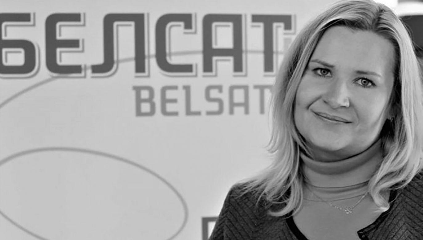 Dziennikarka miała 42 lata (fot. Belsat)