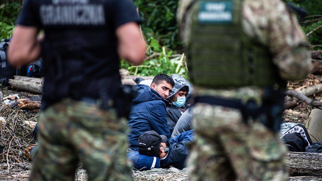 W czwartek odnotowano 271 prób nielegalnego przekroczenia granicy z Białorusi do Polski (fot. A.Husejnow/SOPA/LightRocket/Getty Images)