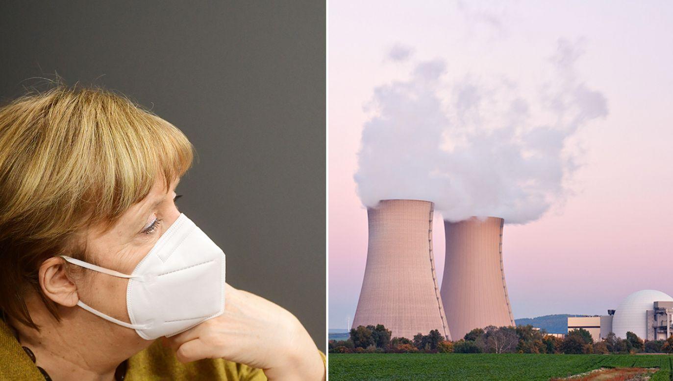 Angela Merkel zdecydowała o odejściu od atomu po katastrofie w Fukushimie (fot. PAP/EPA/CLEMENS BILAN; Shutterstock)