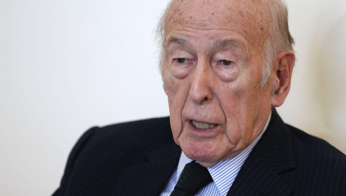 Valery Giscard d'Estaing zmarł w wieku 94 lat (fot. Benoit Tessier/Reuters)