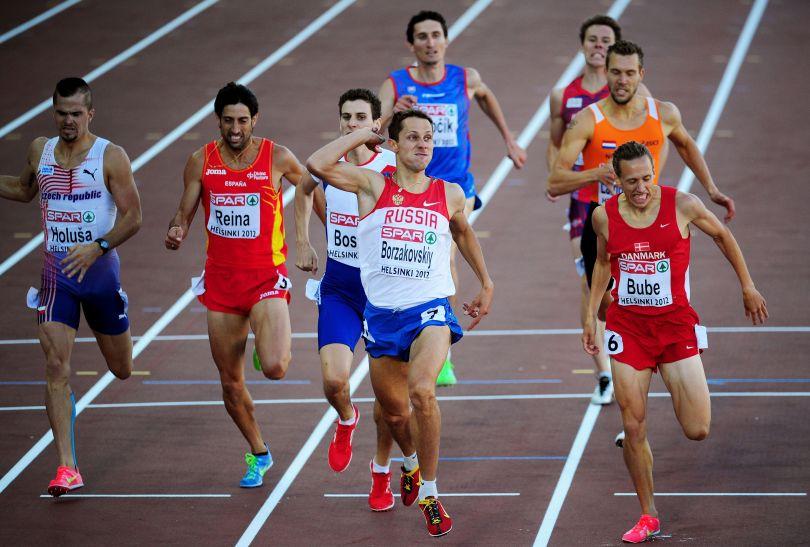 Borżakowski wygrał na 800 metrów (fot. Getty Images)